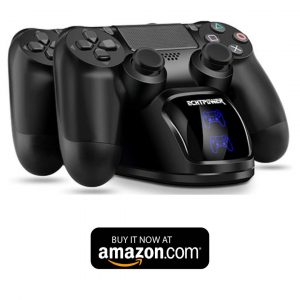 ECHTPower PS4 Controller Charger Station, PS4 Controller Charging Dock