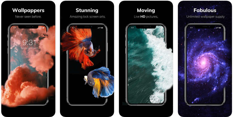 set Live wallpaper to your iPhone