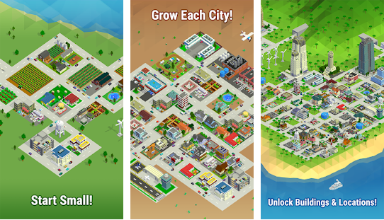 Bit City best idle game