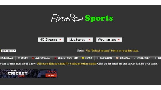 Fïrstrowsports - free sports streaming site