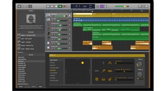 GarageBand free music download software