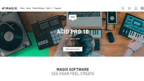 MAGIX Music Maker free beat making software
