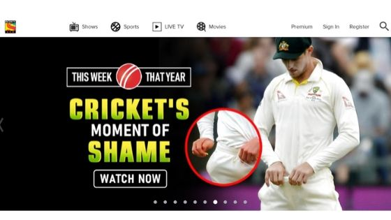 Sony Liv - free sport streaming site