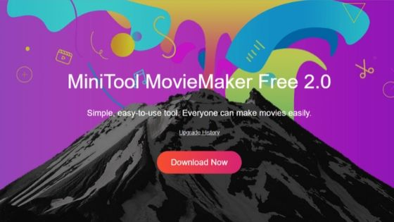 MiniTool MovieMaker free video editor without water mark