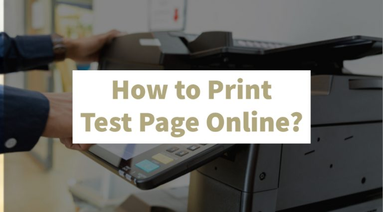 Print test Page Online