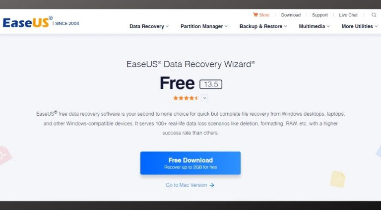 EaseUS Data Recovery Wizard Software Free Review