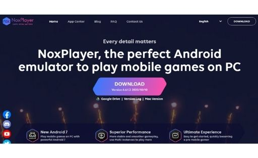NoxPlayer Android Emulator for pc