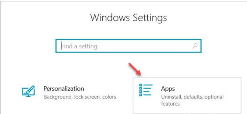 all app windows setting