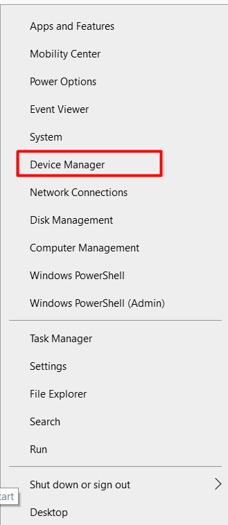 device manager application