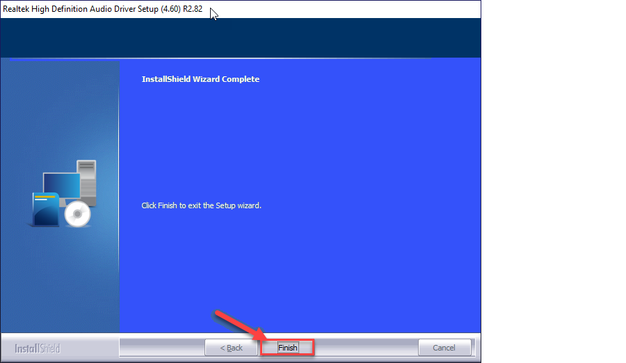 realtek high definition audio driver installation process