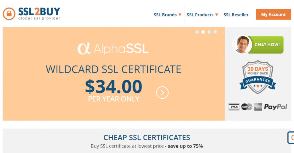 ssl2buy cheap ssl certificate provider
