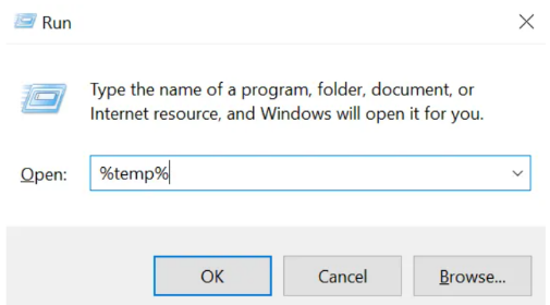 temp file