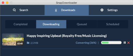 youtube video download with snapdownloader