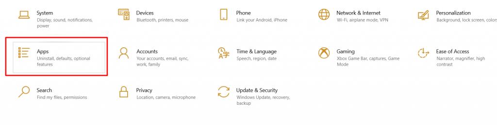 windows apps